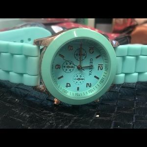 Geneva watch teal